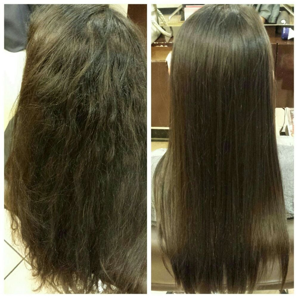 Japanese Hair Straightening Or Brazilian Blowout Japanese