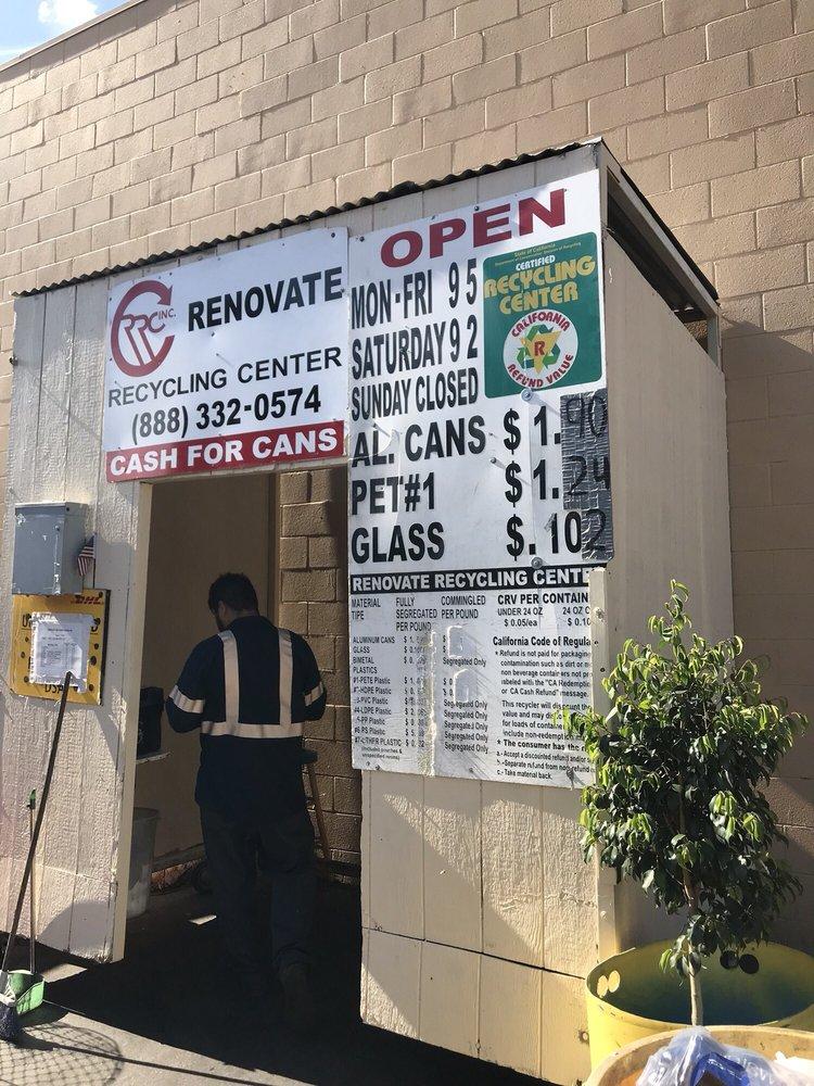 Renovate Recycling Center: 21080 Golden Springs Dr, Diamond Bar, CA