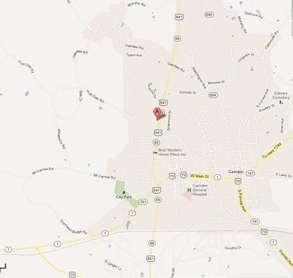 Goodwings 311 Highway 641 N Camden, TN en Dinners - MapQuest on