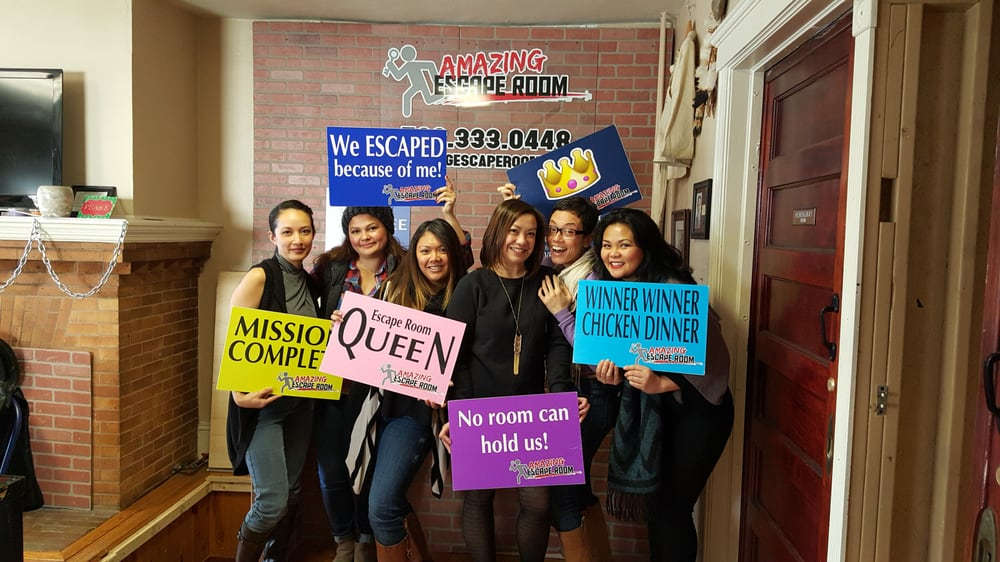 Amazing Escape Room: WE ESCAPED