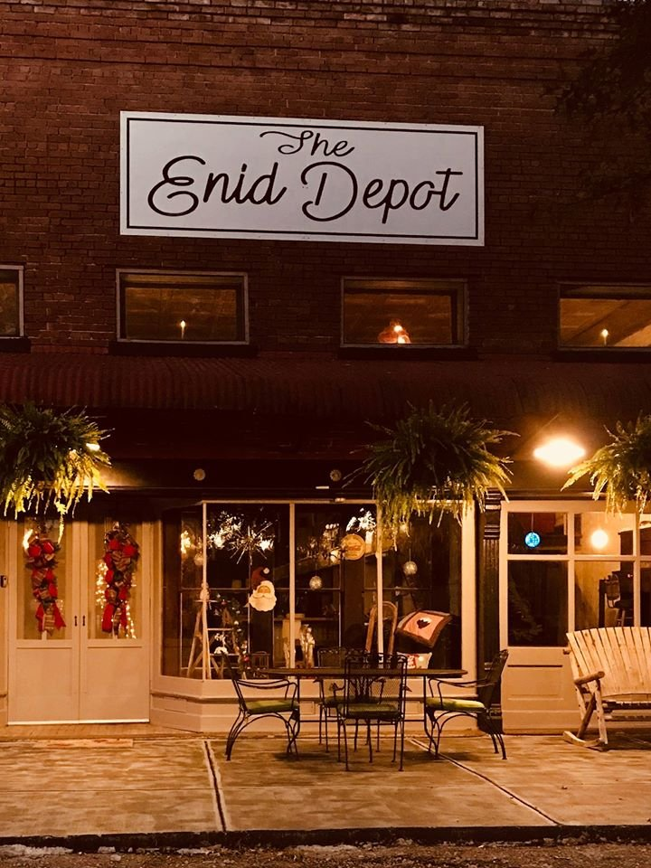 The Enid Depot: 1027 Jackson Ave, Enid, MS