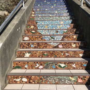 Photo Of The 16th Avenue Tiled Steps   San Francisco, CA, United States.