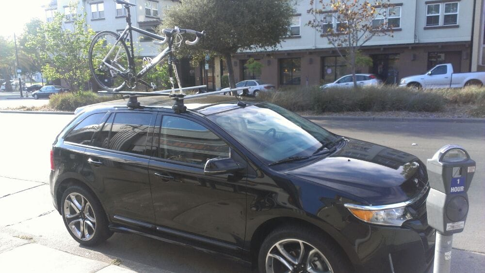 Photo Of Rack Solid Berkeley Ca United States  Ford Edge Sport