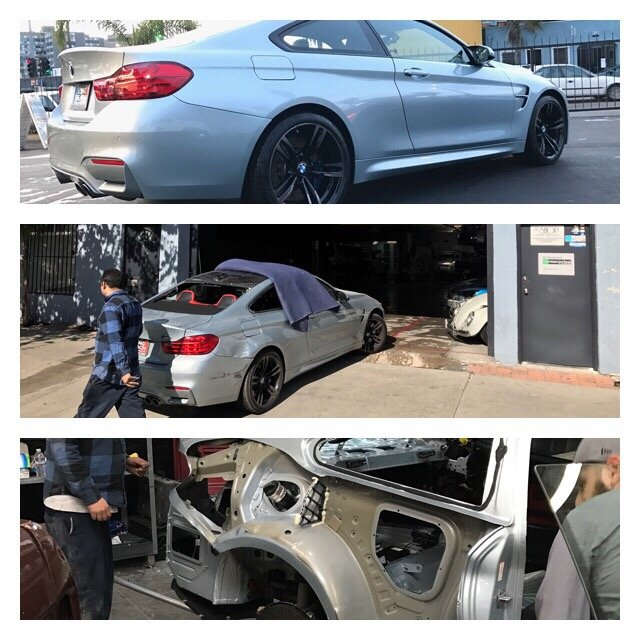 Bmw m4 quarter panel replace yelp for South motors bmw collision center