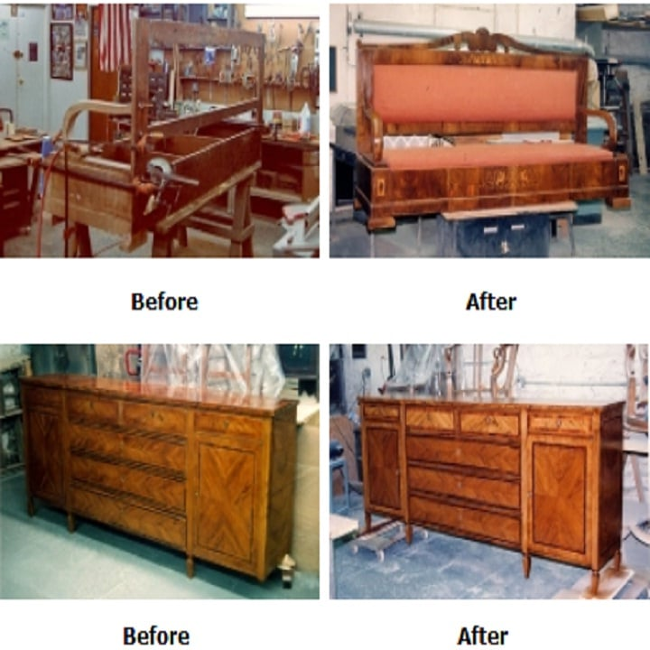 Cookes Antique Furniture Restorer Inc   1916 Park Ave, New York, NY, 10037   +1 (212) 690-5575