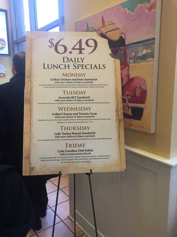 Cafe Carolina Fayetteville St Raleigh