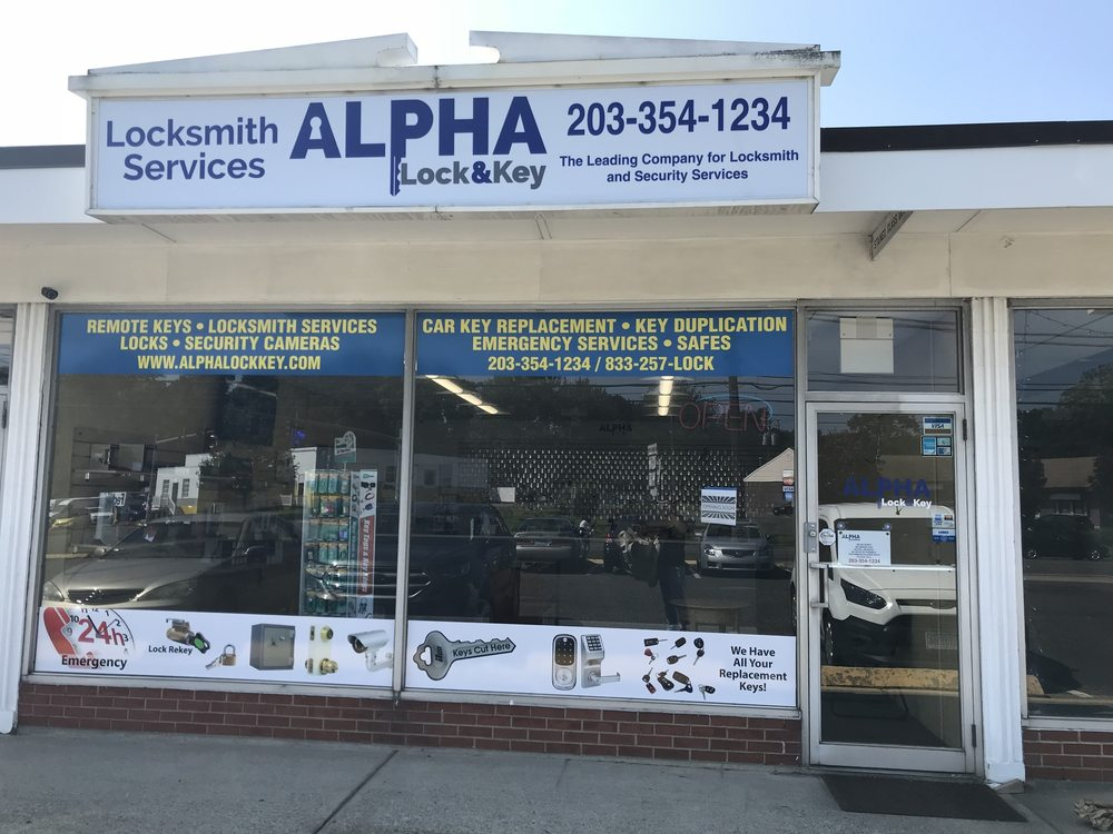 Alpha Lock & Key: 400 Boston Post Rd, Milford, CT