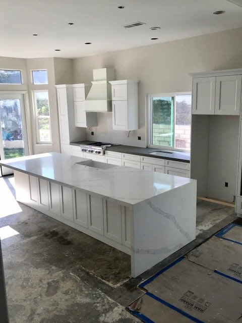 Obsessed With My New Kitchen Counters Quartz Island 2 1