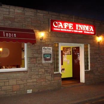 Cafe India Menu Huntly