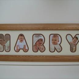 photo of name frames uk birmingham west midlands united kingdom - Name Frames