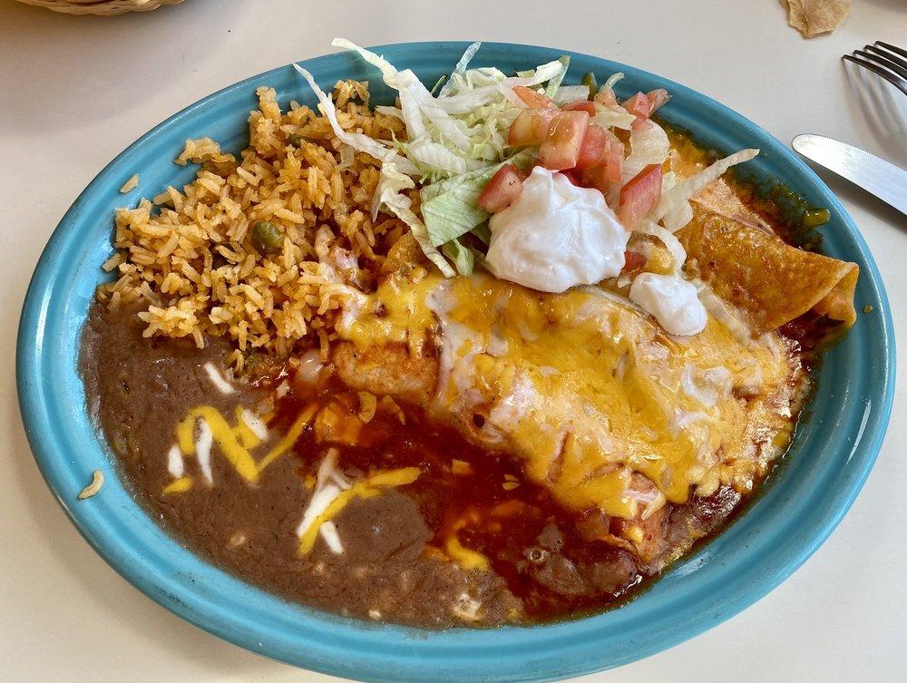 Food from Las Koritas