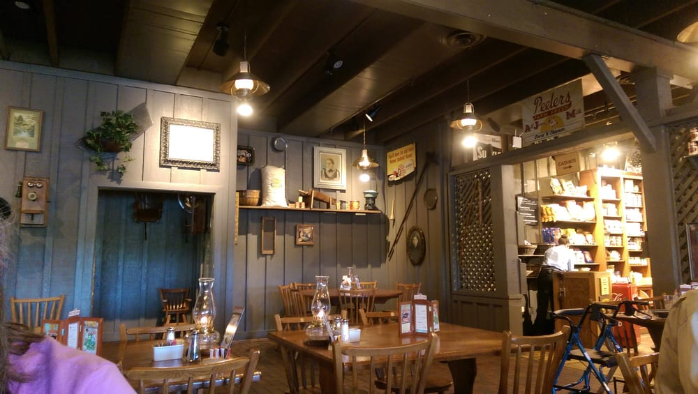 Cracker barrel old country store 21 recensioni cucina for Case di cracker di florida