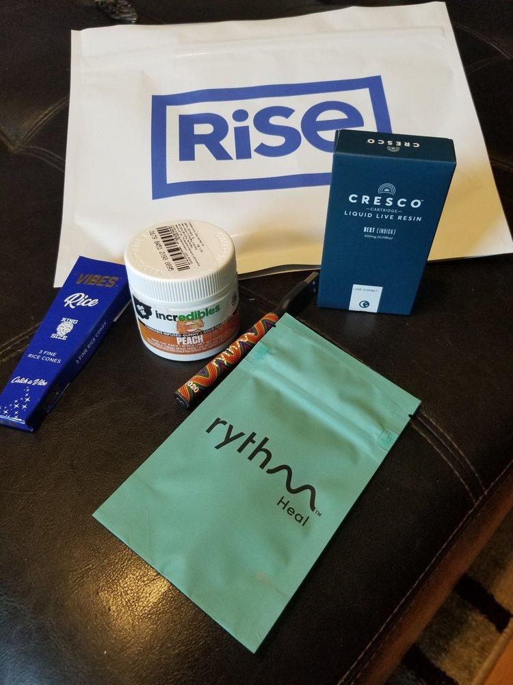 Rise Dispensaries Niles: 9621 N Milwaukee Ave, Niles, IL