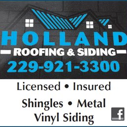 Attractive Photo Of Holland Roofing U0026 Siding   Moultrie, GA, United States