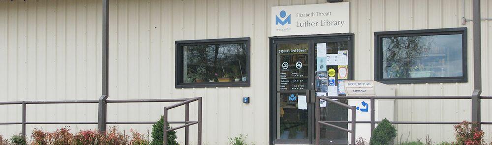 Elizabeth Threatt Luther Library: 310 NE 3rd St, Luther, OK