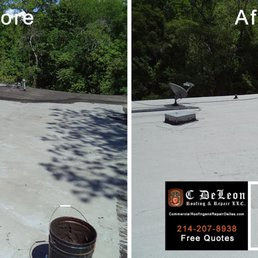 Photo Of C DeLeon Roofing And Repair   Dallas, TX, United States. Commercial