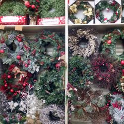 photo of christmas tree shops greenville sc united states christmas wreaths are - Christmas Tree Shop Augusta Maine