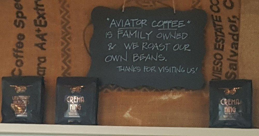 Aviator Coffee: 25876 Washington Blvd NE, Kingston, WA