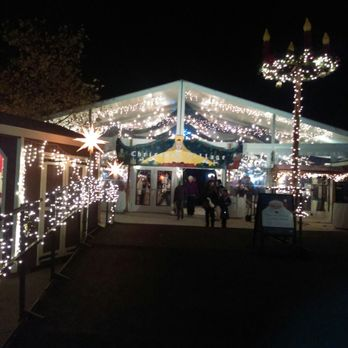 photo of christmas village in baltimore baltimore md united states the entrance