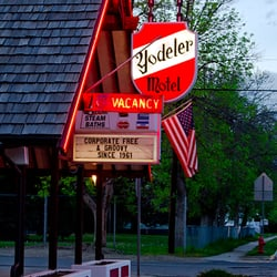 Photo Of Yodeler Motel Red Lodge Mt United States Todelly