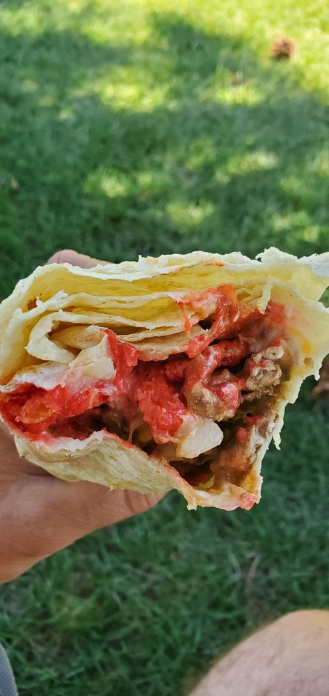 Food from La Casita Mexicana Restaurant
