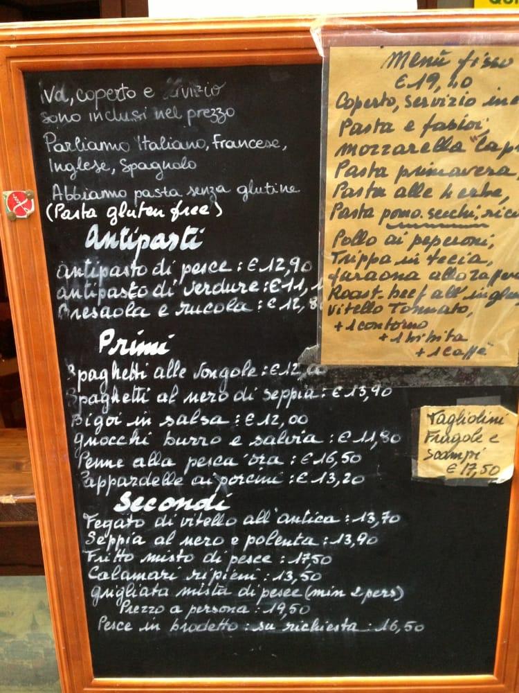 Osteria alba nova dalla maria cucina italiana lista for Numero abitanti di bari