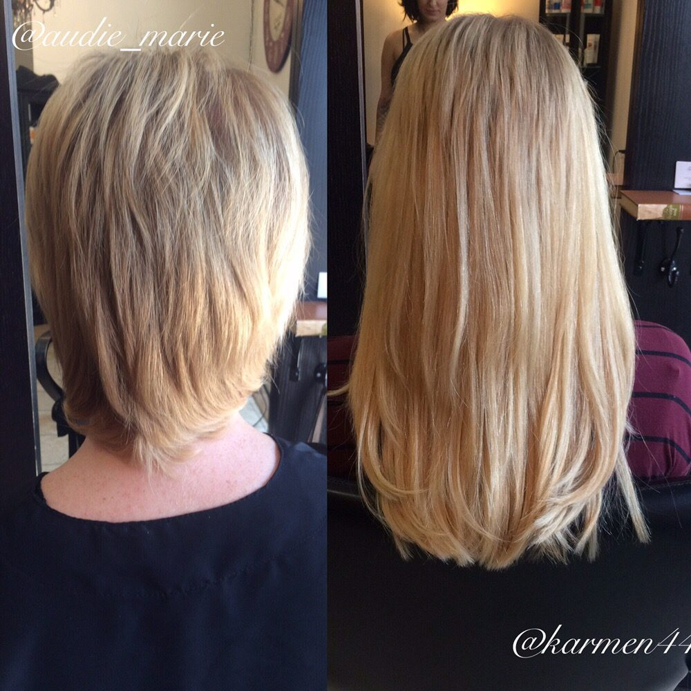 Individual Hair Extensions By Karmen Haircut By Audie Yelp