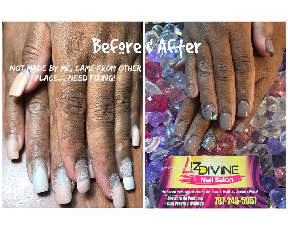 Liz Divine Nails Salon: Carretera 2 Km 119, Aguadilla, PR