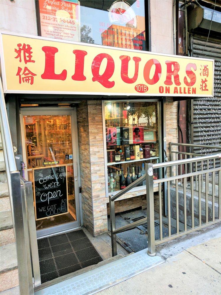 Liquors On Allen: 101 Allen St, New York, NY
