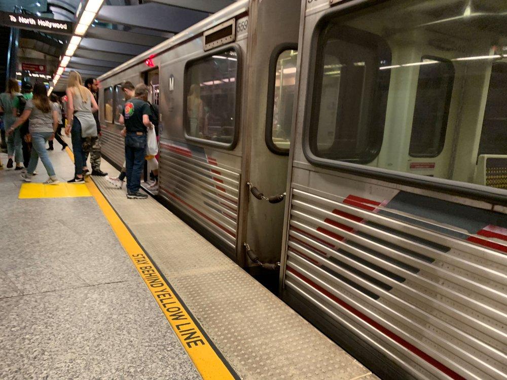Hollywood / Highland Red Line Station: 6801 Hollywood Blvd, Los Angeles, CA