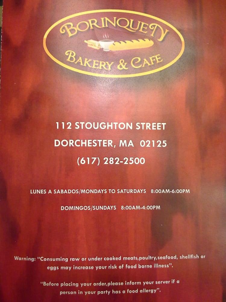 Bakery Cafe Boston Ma