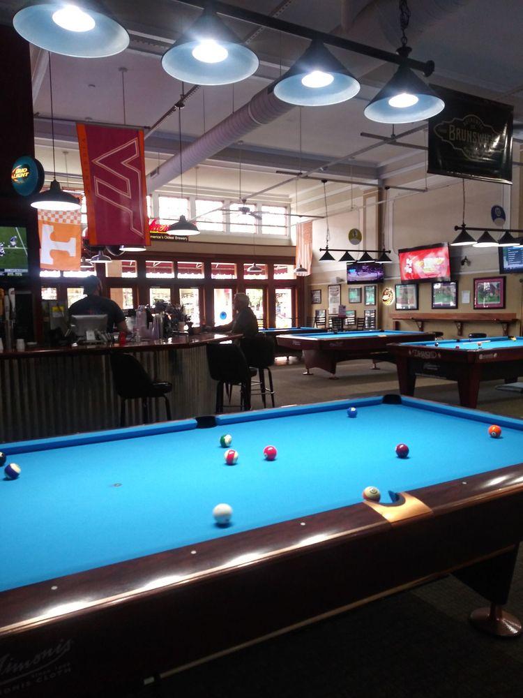 Social Spots from Borderline Billiards