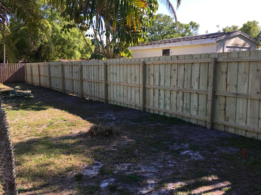Photos For Florida Fence Yelp