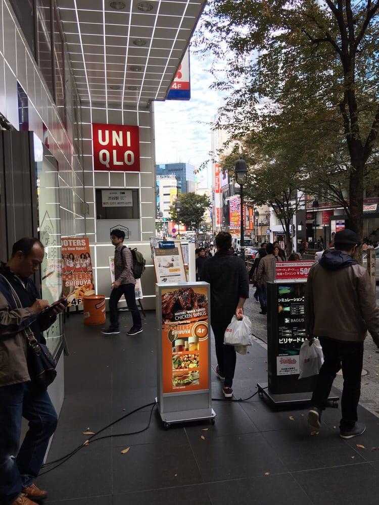 Uniqlo Shibuya Dogenzaka