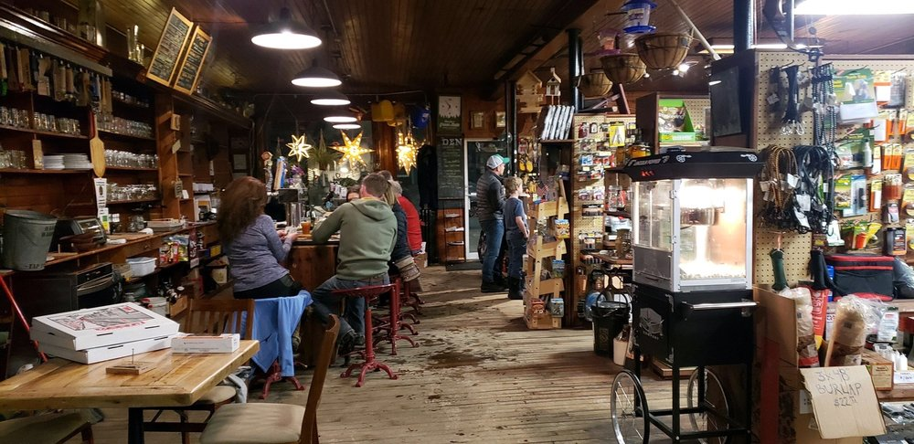 The Den at Harry's Hardware: 3087 Main St, Cabot, VT
