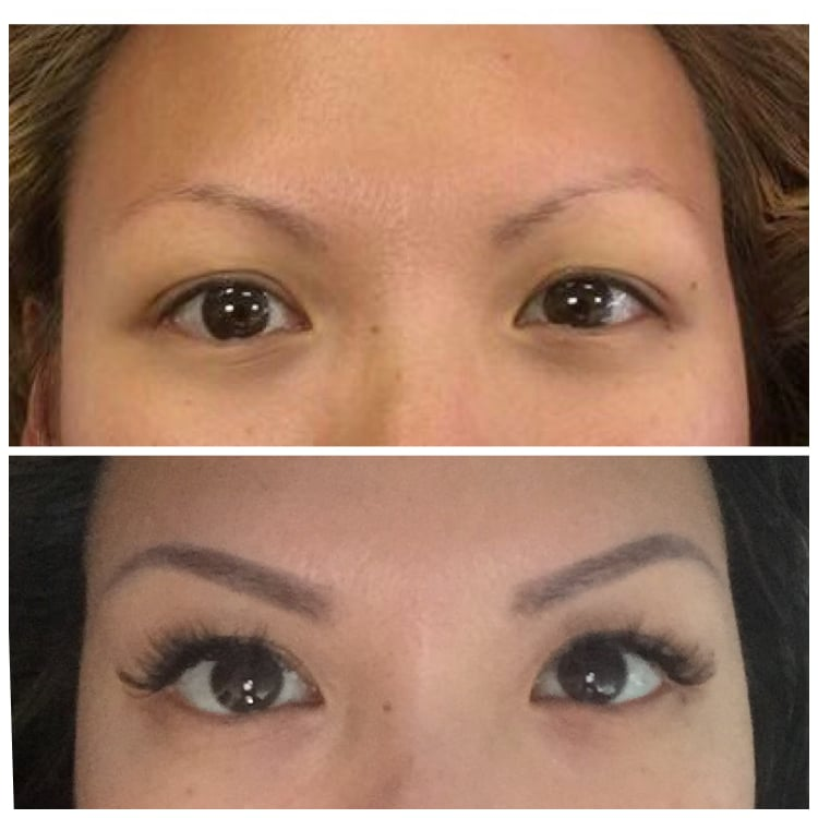 Pictures Of Eyelash Extensions Asian Monolid Kidskunstfo