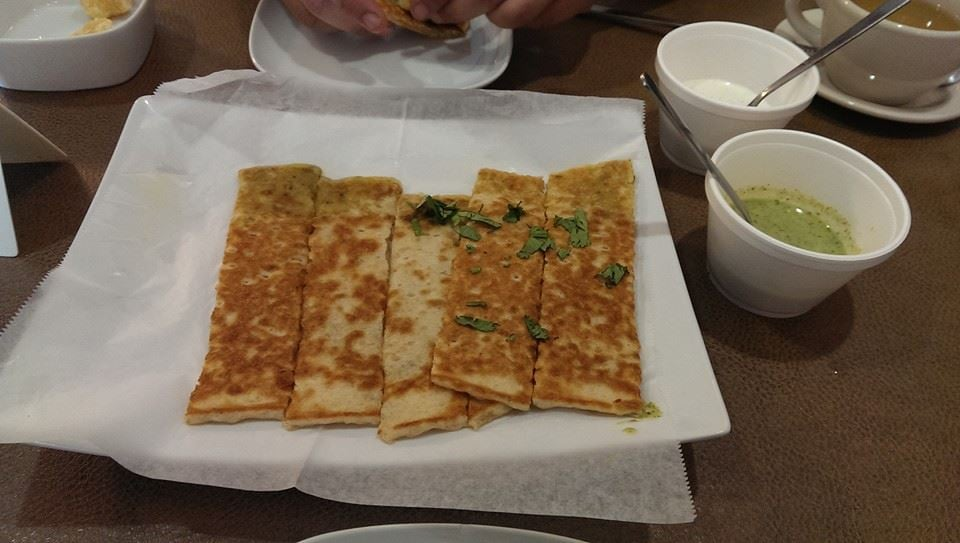 Spicy flat bread i don 39 t remember what it was on the menu for Afghan cuisine houston tx