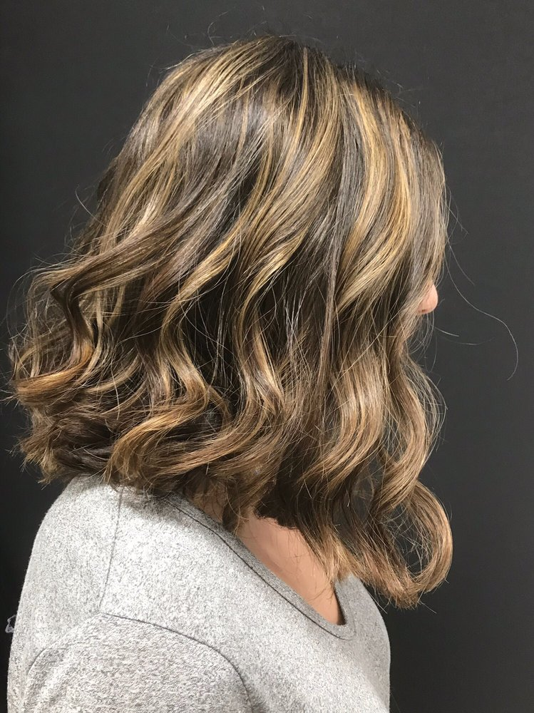 Partial Highlights With A Lob Haircut By Karla Now Accepting New