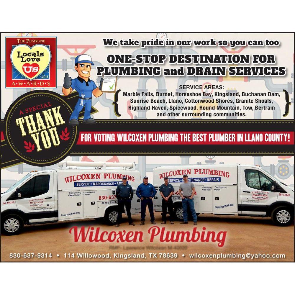 Wilcoxen Plumbing: 3436 W Ranch Road 1431, Kingsland, TX
