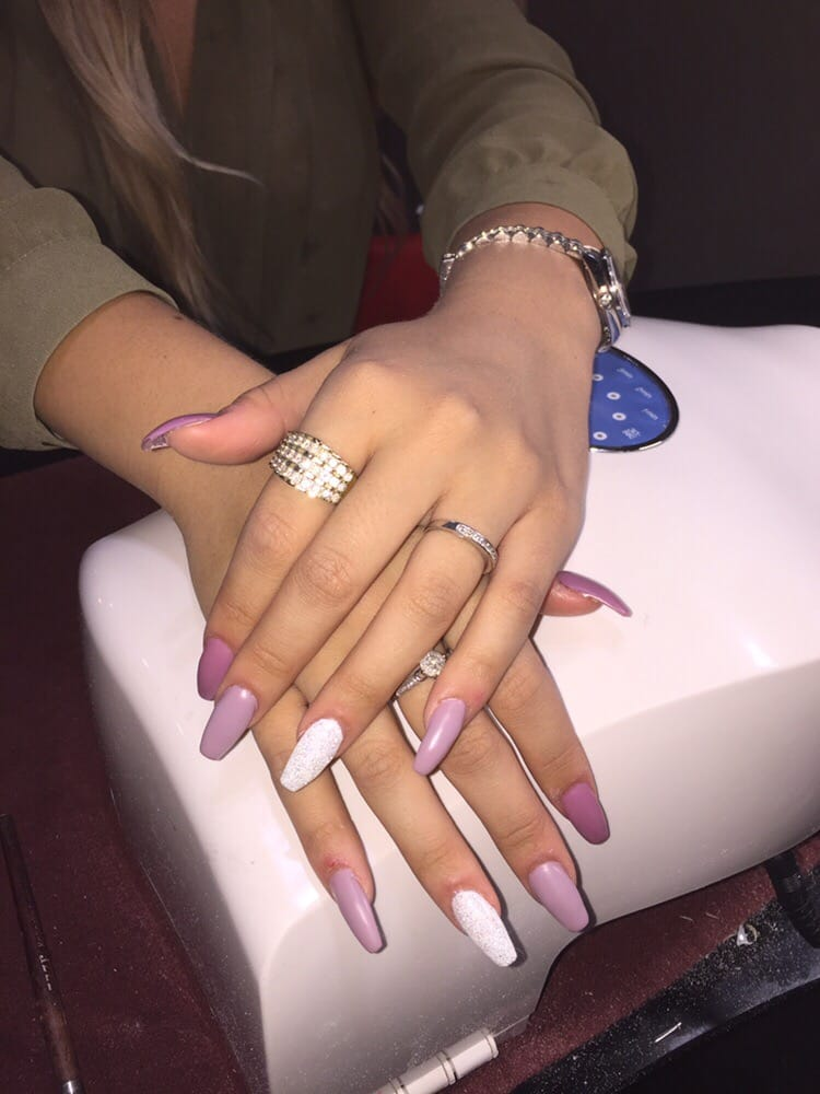 Coffin nails spring color triangle - Yelp