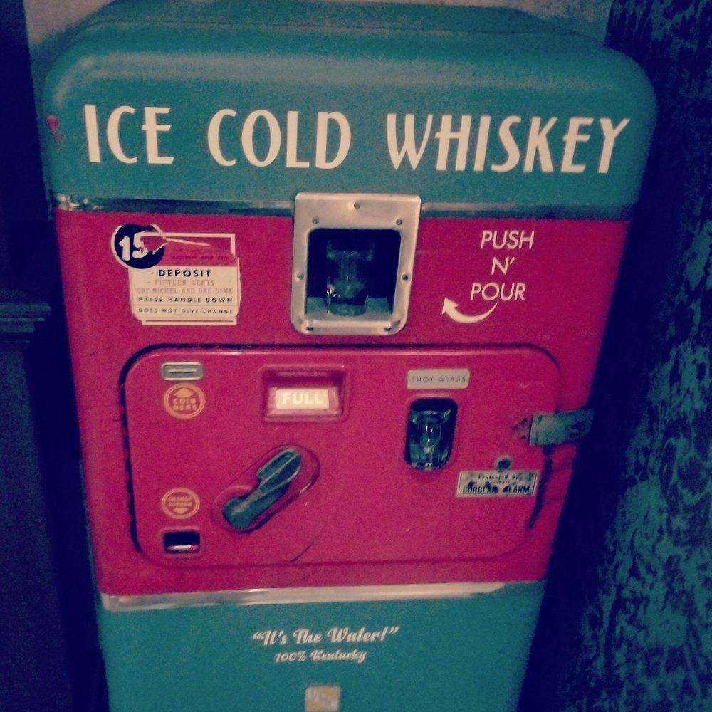 whiskey vending machine yelp
