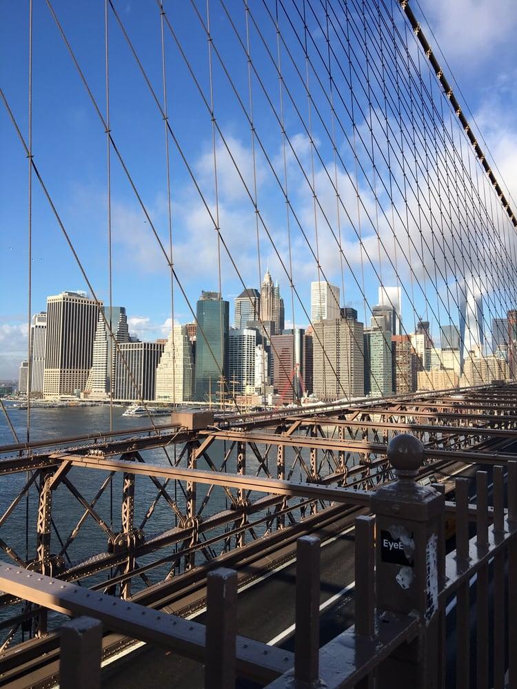 Photo of Brooklyn Bridge - Brooklyn, NY, United States. Lower Manhattan - Financial District