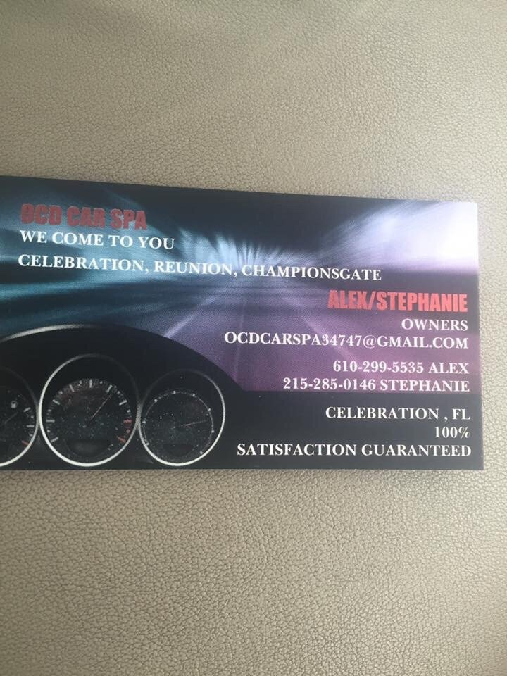 OCD Car Spa: Celebration, FL