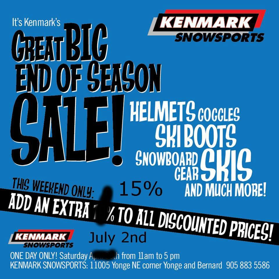 Kenmark Snow Sports - CLOSED - Outdoor Gear - 11005 Yonge Street N ...