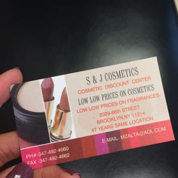 Cosmetic discount center 14 reviews cosmetics beauty supply photo of cosmetic discount center brooklyn ny united states business card with colourmoves