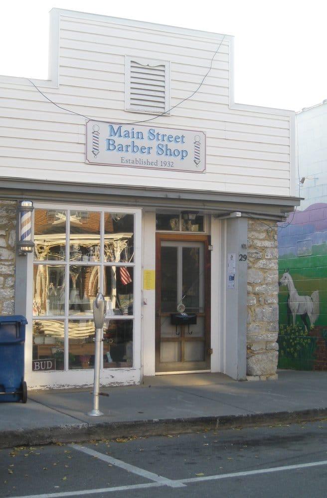 Main Street Barber Shop: 29 W Main St, Berryville, VA