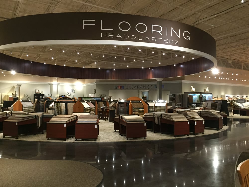 Flooring Headquarters Located In Furniture Mall Of Kansas. Tons Of Selection.