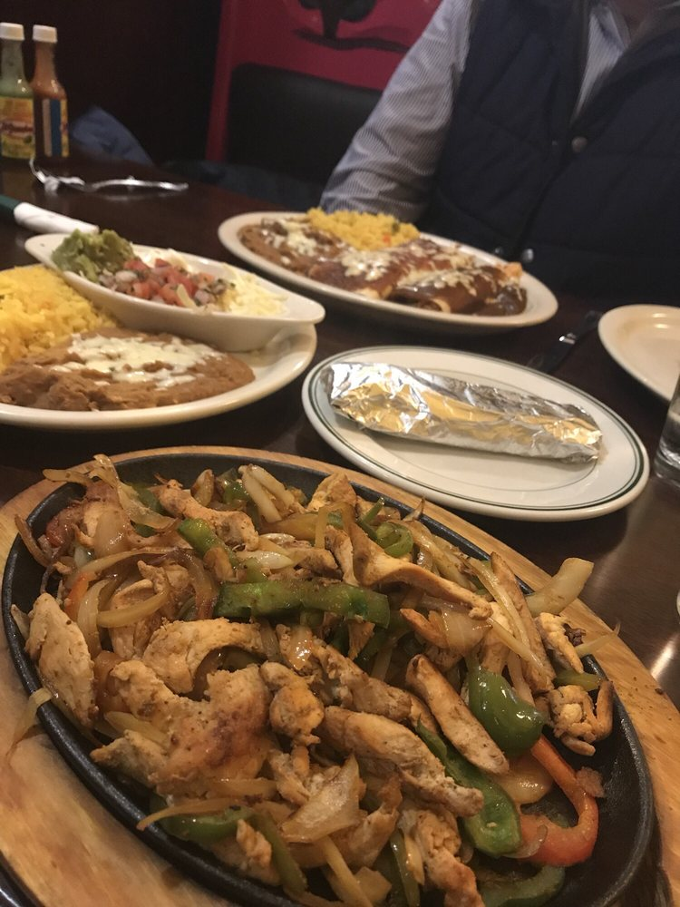 Food from El Patron Mexican Grill & Cantina