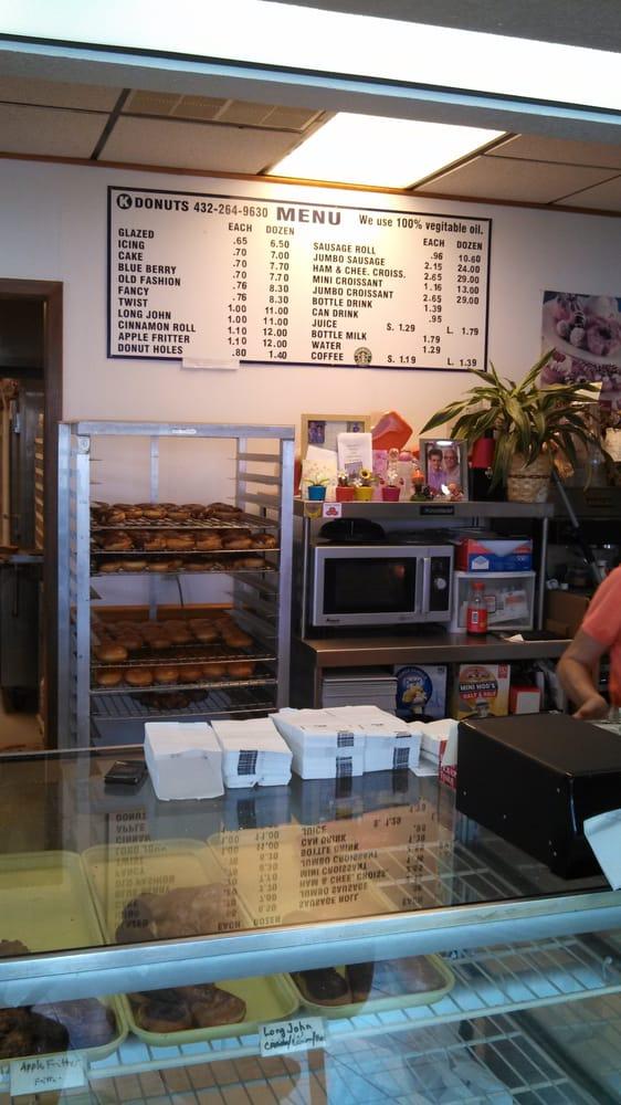 K Donuts: 1901 S Gregg St, Big Spring, TX