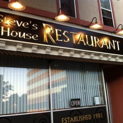 Photo Of Steve S House Restaurant Manchester Nh United States The New Sign